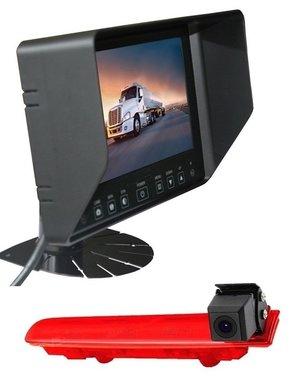 RVS-systemen VW Transporter T6 (2010-heden) Remlichtcamera Monitor 7 inch RVB-720