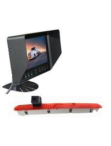 RVS-systemen VW Transporter T6 Klep (2016-heden) Remlichtcamera Monitor 7 inch RVB-720