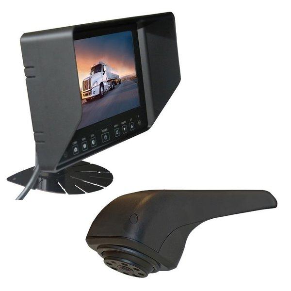 RVS-systemen VW Crafter Originele (2017-heden) Remlichtcamera Achteruitrijcamera Monitor 7 inch RVB-720