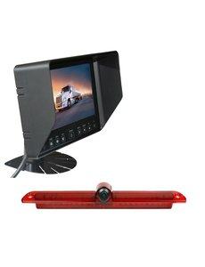 RVS-systemen Mercedes Sprinter Led  (2007-heden) Remlichtcamera Monitor 7 inch RVB-720