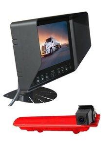 RVS-systemen VW Transporter T5 (2010-heden) Remlichtcamera  Monitor 7 inch RVB-720