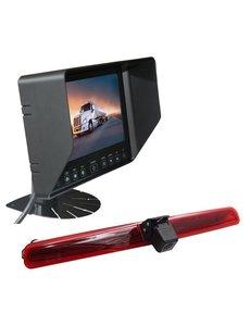 RVS-systemen VW Transporter T5 Klep (2003-2015) Remlichtcamera  Monitor 7 inch RVB-720