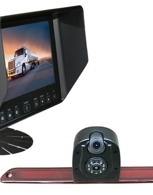 RVS-systemen VW Crafter (2007- heden) Dubbele Camera Monitor 7 inch RVB-720