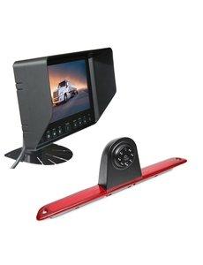 RVS-systemen VW Crafter Hoog (2007- heden) Remlichtcamera Monitor 7 inch RVB-720