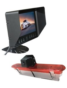 RVS-systemen Opel Combo (2011–2017) Remlichtcamera Monitor 7 inch RVB-720