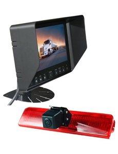 RVS-systemen VW Caddy (2008-2016) Remlichtcamera Monitor 7 inch RVB-720