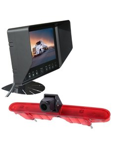 RVS-systemen Peugeot Partner (2008-2016) Remlichtcamera Monitor 7 inch RVB-720
