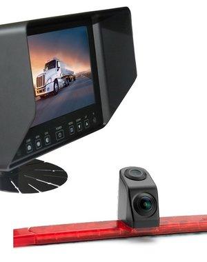 RVS-systemen Hella Dubbele Achteruitrijcamera Monitor7 inch RVB-720