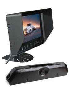 RVS-systemen Iveco Daily (2014-2018) Remlichtcamera Monitor 7 inch RVB-720