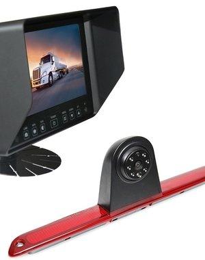 RVS-systemen Mercedes Sprinter Hoog (2007- heden) Remlichtcamera Monitor 7 inch RVB-720