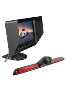 RVS-systemen Mercedes Sprinter Laag (2007- heden) Remlichtcamera Monitor 7 inch RVB-720