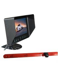 RVS-systemen Mercedes Vito (2016-heden) Remlichtcamera Monitor 7 inch RVB-720
