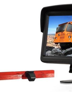RVS-systemen Mercedes Vito (2016-heden) Remlichtcamera Monitor 7 inch RVM-760