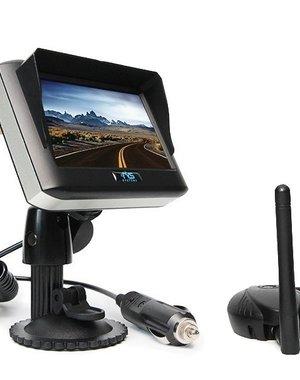 RVS-systemen 4.3 Inch Monitor Draadloos RVM-430 met Zender