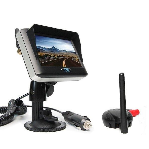 RVS-systemen 4.3 Inch Monitor met Zender Achteruitrijcamera Monitor 4.3 Inch