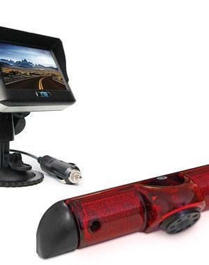 RVS-systemen Peugeot Boxer (2006-heden) Draadloze set Monitor 4.3 inch RVM-430