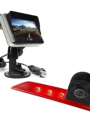 RVS-systemen Ford Transit Custom Led (2016-helden) Draadloze set Monitor 4.3 inch RVM-430