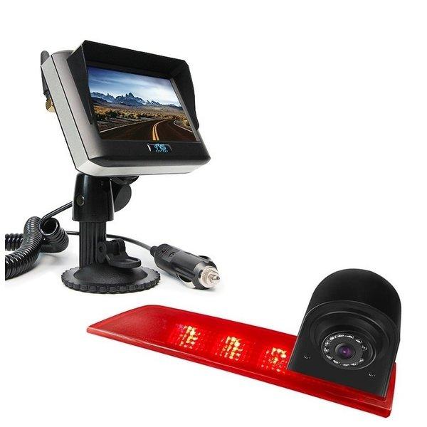 RVS-systemen Ford Transit Custom Led (2016-helden) Remlichtcamera Draadloze set Monitor 4.3 inch RVM-430
