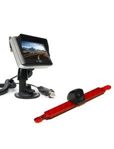 RVS-systemen Hella Enkele Camera  Draadloze set Monitor 4.3 inch RVM-430