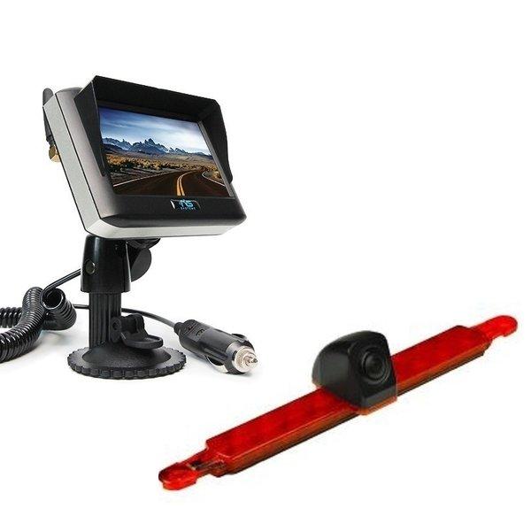 RVS-systemen Hella Achteruitrijcamera  Draadloze set Monitor 4.3 inch RVM-430