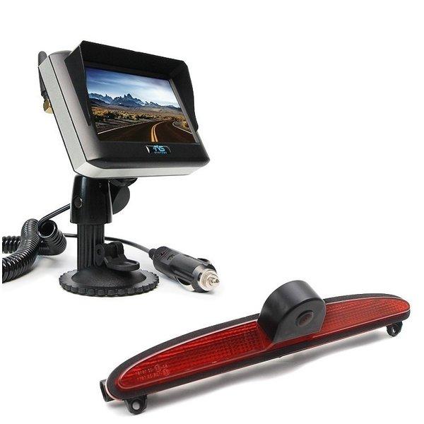 RVS-systemen IVECO Daily (2014 -2018) Remlichtcamera Achteruitrijcamera Draadloze set Monitor 4.3 inch RVM-430