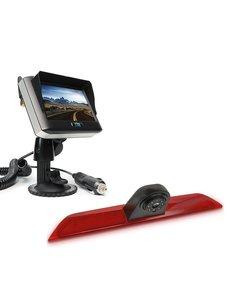 RVS-systemen Ford Transit  Custom Klep (2014-heden) Draadloze set Monitor 4.3 inch RVM-430