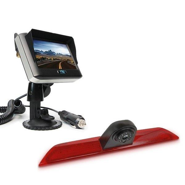 RVS-systemen  Ford Transit  Custom Klep (2014-heden) Remlichtcamera Draadloze set Monitor 4.3 inch RVM-430