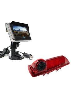 RVS-systemen Nissan  NV300 (2016-heden) Draadloze set Monitor 4.3 inch RVM-430