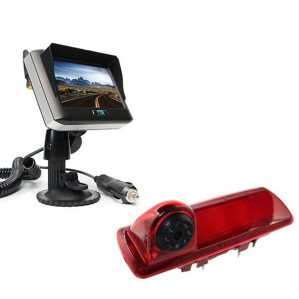 RVS-systemen Nissan  NV300 (2016-heden) Remlichtcamera Draadloze set Monitor 4.3 inch RVM-430
