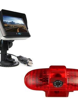RVS-systemen Opel Vivaro (2001-2014) Draadloze set Monitor 4.3 inch RVM-430