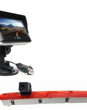 RVS-systemen VW Transporter T6 Klep (2016-heden) Draadloze set Monitor 4.3 inch RVM-430