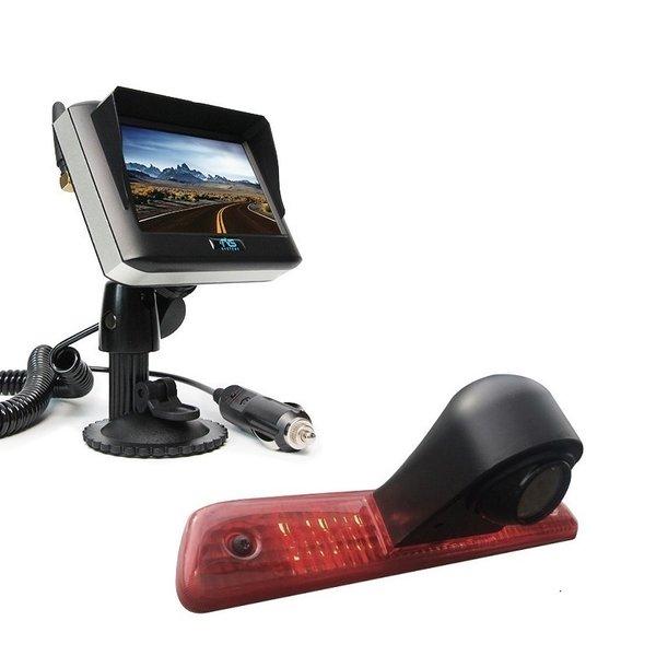 RVS-systemen Citroen Jumpy (2007-2016 ) Remlichtcamera Draadloze set Monitor 4.3 inch RVM-430