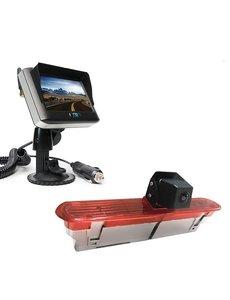 RVS-systemen Fiat Dublo (2010–heden) Draadloze set Monitor 4.3 inch RVM-430