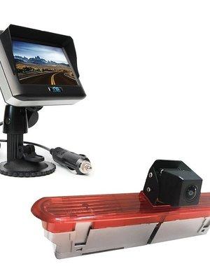 RVS-systemen Opel Combo (2011–2017) Draadloze set Monitor 4.3 inch RVM-430