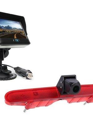 RVS-systemen Peugeot Partner (2008-2016) Draadloze set Monitor 4.3 inch RVM-430