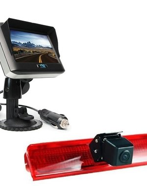 RVS-systemen VW Caddy (2008-2016) Draadloze set Monitor 4.3 inch RVM-430