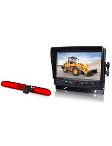 RVS-systemen Peugeot Partner  (2016-heden) Remlichtcamera  Monitor 7 inch RVM-780