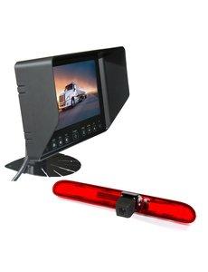RVS-systemen Peugeot Partner  (2016-heden) Remlichtcamera  Monitor 7 inch RVB-720