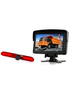 RVS-systemen Citroen Jumpy (2016-heden) Remlichtcamera  Monitor 7 inch RVM-760