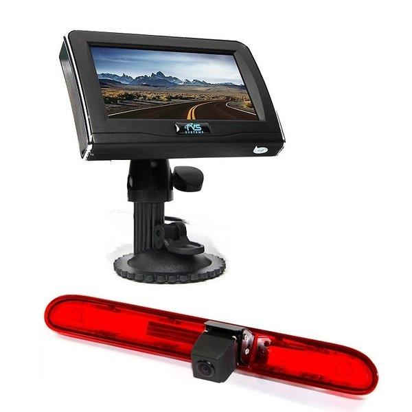 RVS-systemen Peugeot Partner (2016 heden) Remlichtcamera Achteruitrijcamera 4.3 inch Monitor RVM-420