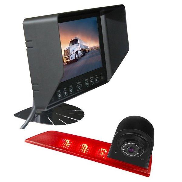 RVS-systemen Ford Transit Custom Led (2016-heden) Remlichtcamera Monitor 7 inch RVB-720