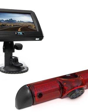 RVS-systemen Peugeot Boxer (2006-heden) Remlichtcamera 4.3 inch Monitor RVM-420