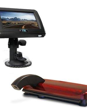 RVS-systemen Ford Transit Connect (2013-heden) Remlichtcamera 4.3 inch Monitor RVM-420