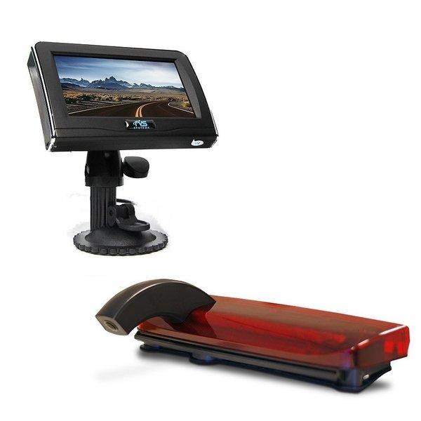 RVS-systemen Ford Transit Connect (2013-heden) Remlichtcamera Achteruitrijcamera 4.3 inch Monitor RVM-420