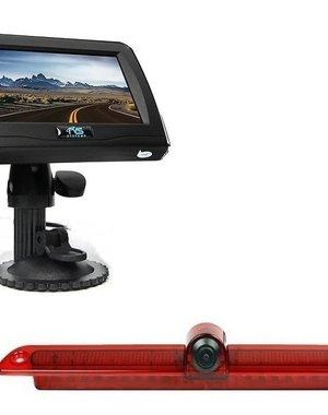 RVS-systemen VW Crafter Led (2007-heden) Remlichtcamera 4.3 inch Monitor RVM-420