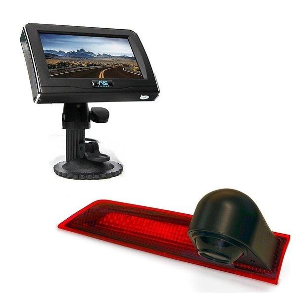 RVS-systemen Ford Transit Custom (2012-mei 2016) Remlichtcamera 4.3 inch Monitor RVM-420