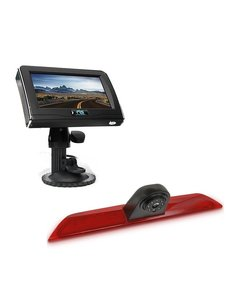 RVS-systemen Ford Transit  Custom Klep (2014-heden) Remlichtcamera 4.3 inch Monitor RVM-420