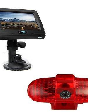 RVS-systemen Opel Vivaro (2001-2014) Remlichtcamera 4.3 inch Monitor RVM-420