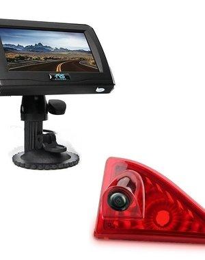 RVS-systemen Opel Movano (2010-heden) Remlichtcamera 4.3 inch Monitor RVM-420