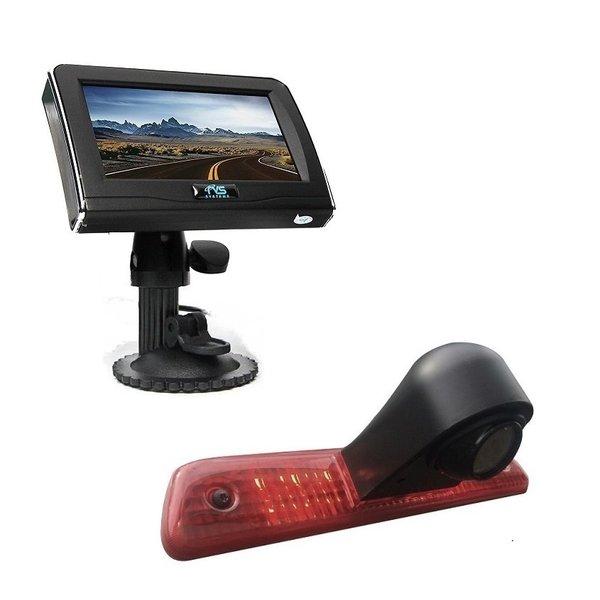 RVS-systemen Peugeot Expert (2007-2016) Remlichtcamera 4.3 inch Monitor RVM-420